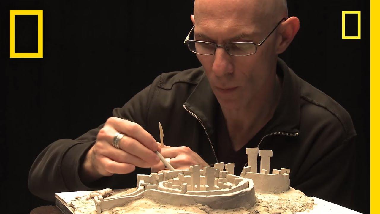 Hans Tepe modeling göbekli tepe national geographic
