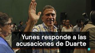 Yunes responde a las acusaciones de Javier Duarte - Despierta con Loret