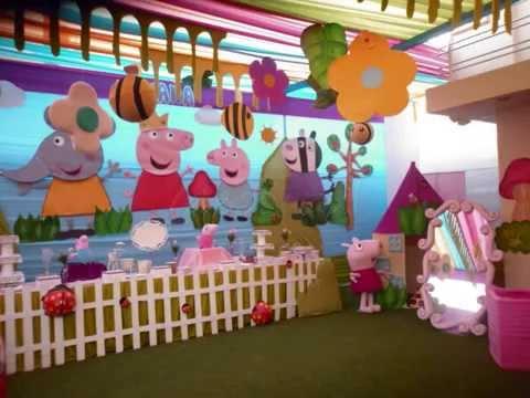 Decoracion pepa pig princesas sofia fiesta infantil - Blog de decoracion infantil ...