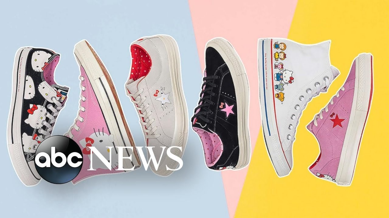 Converse, Hello Kitty collab will step up your shoe game