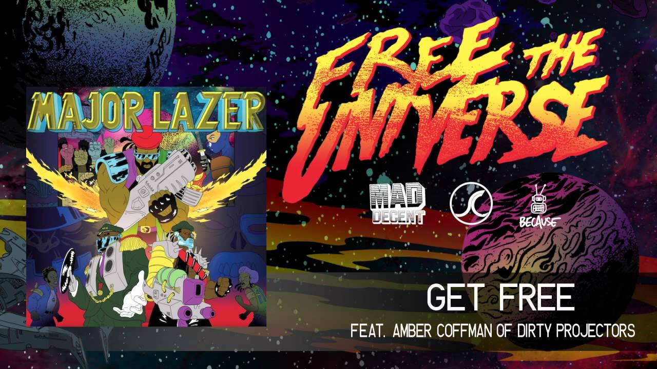 major lazer get free 2k13