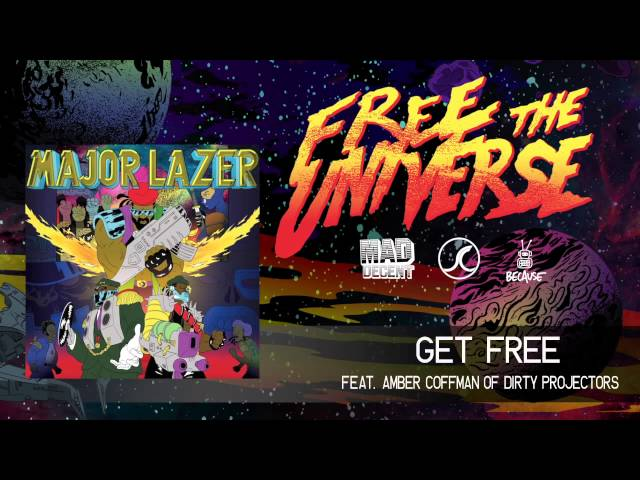 Major Lazer - Get Free featuring Amber Coffman of Dirty Projectors [OFFICIAL HQ AUDIO]