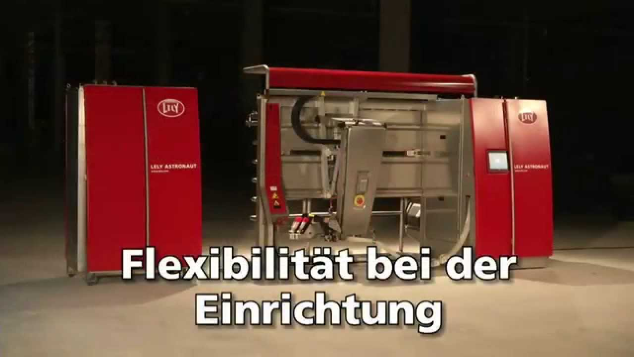 Lely Astronaut A4 - Milking robot highlights (German)