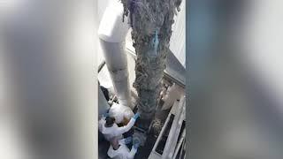 45 טון מגבונים נשלפים מתחנת שאיבה
