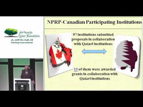 """Dr. Amir Al Saadi - """"Qatar National Research Fund: Coming of Age"""""""