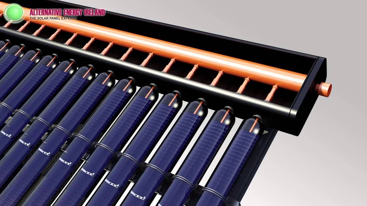 Kingspan Thermomax HP400 solar panel installation ...