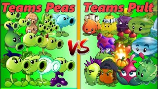 Plants Vs Zombies 2 Teams Peashooter vs Teams Pult PVZ 2 Gameplay