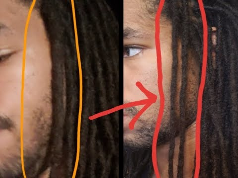How To Make Big/Thick Dreads Smaller And Retain Length (Not Splitting)