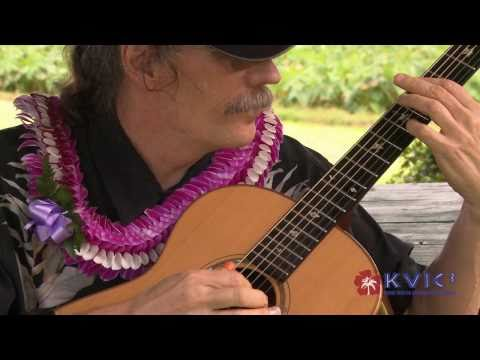 Doug & Sandy McMaster Extended - Slack Key Guitar & Ukulele - KVIC-TV, myKauai.com [Music]