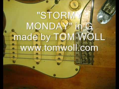 STORMY MONDAY Backing Track
