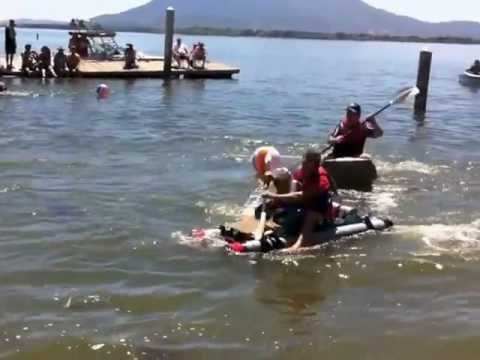 Cardboard Duct Tape Boat Races 2012