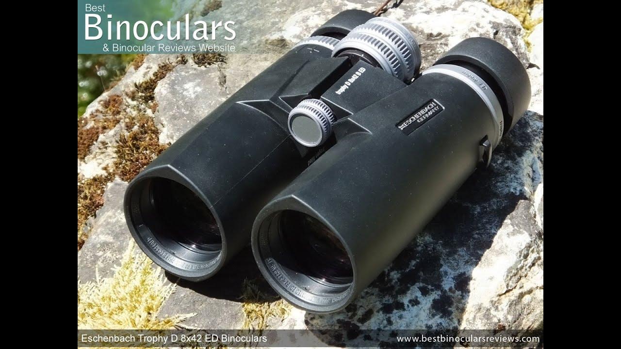 Eschenbach trophy d ed binoculars youtube