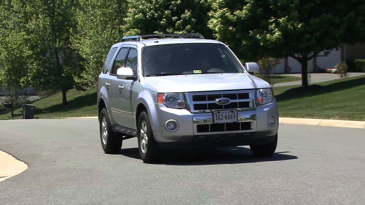 2010 Ford Escape - Review - YouTube