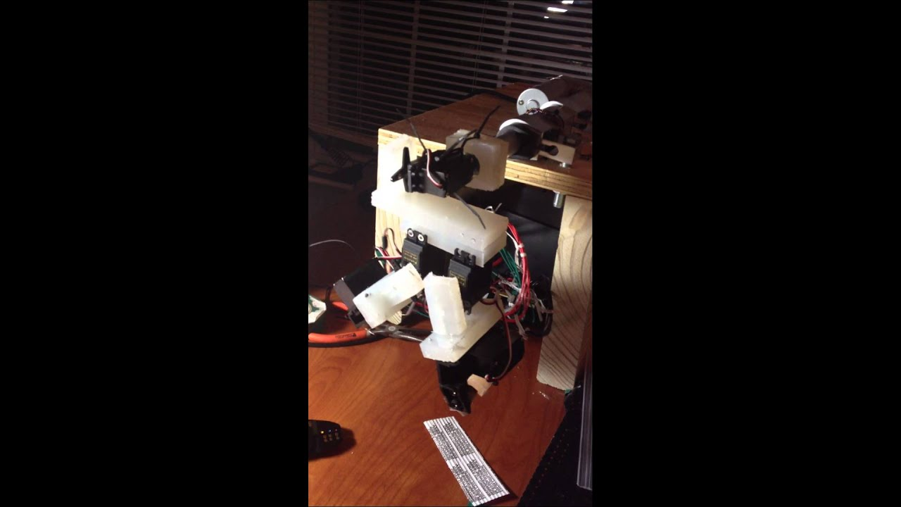 Youtube Automated Cms By Teedeskdev: A Robot Performing A Helical Stitch In An Automated