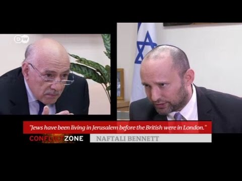 Bennett vs. Sebastian - Fighting for Israel in hostile interview