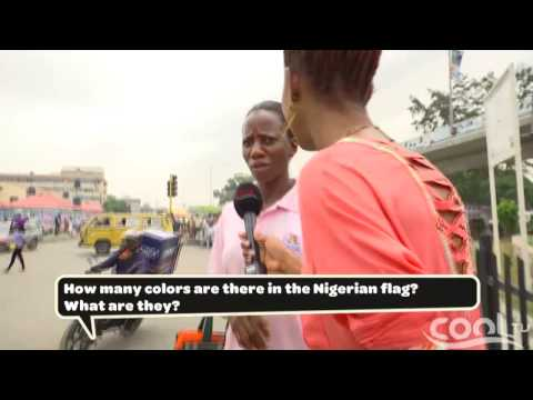 STREET TALK - How Many Colors Are In The Nigeria Flag | Cool TV