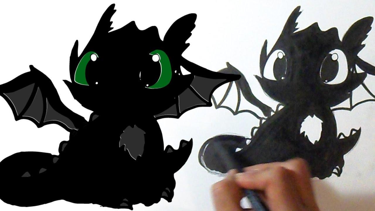 Imagenes De Chimuelo Para Pintar: Chimuelo Dibujos