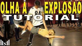 OLHA A EXPLOSAO - MC Kevinho Dance Tutorial | Matt Steffanina & Chachi Choreography