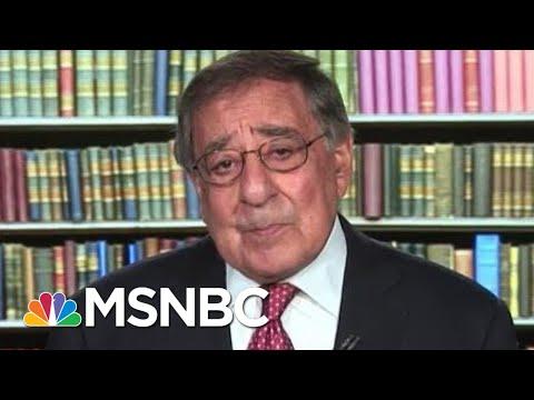 Leon Panetta Slams President Donald Trump's 'Government By Chaos' | Andrea Mitchell | MSNBC