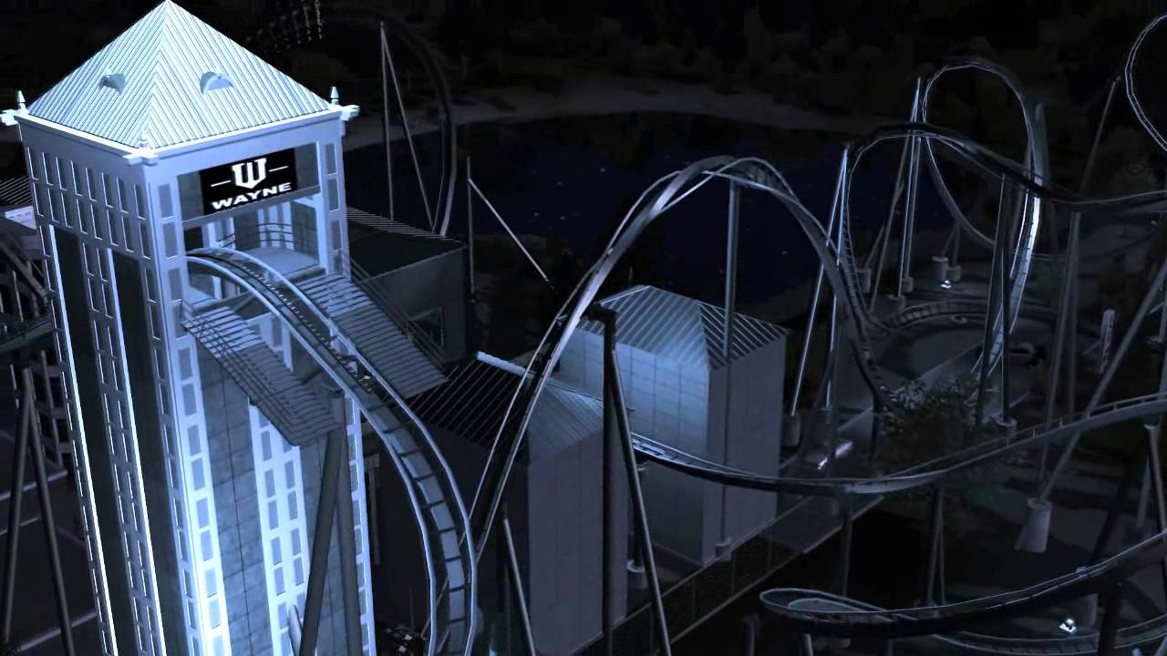 The Dark Knight Rises Coaster in RCT3 - Coaster101