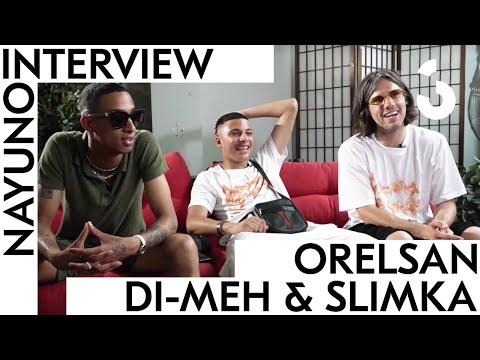 Youtube: Orelsan x Di-Meh x Slimka – Leur collab pour AVNIER, la Suisse, nouveaux projets – INTERVIEW NAYUNO