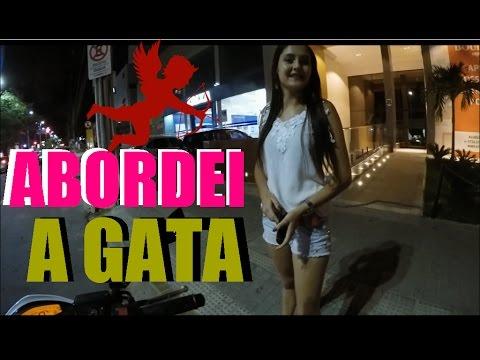 ABORDEI A GATA NA RUA E OLHA  NO QUE DEU!!!