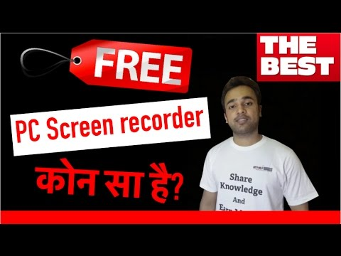BEST & FREE PC Screen recorder for YouTube videos   Windows 7, 8, 10, Linux & Mac OS X