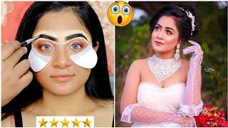 I Went to The BEST Reviewed BRIDAL Makeup Artist in India| Christian Bridal Makeup | Nilanjana Dhar