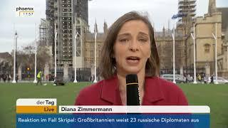Diana Zimmermann zum Verhältnis zwischen Großbritannien und Russland am 14.03.2018.