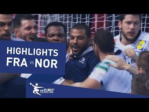 Highlights | France vs Norway | Men's EHF EURO 2018