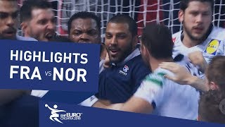Highlights | France vs Norway | Men's EHF EURO 2018