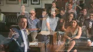 """Joe Wells argues the case for """"The End Is Nigh"""" at Cambridge Union"""