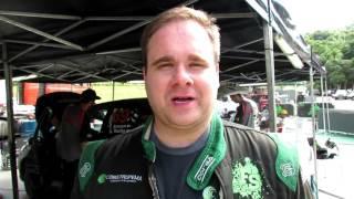 Fabio Simsen   Após SS6   Rally de Pomerode 2016