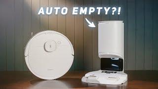 A SELF-EMPTYING Robot Vacuum?! (Deebot N8+)