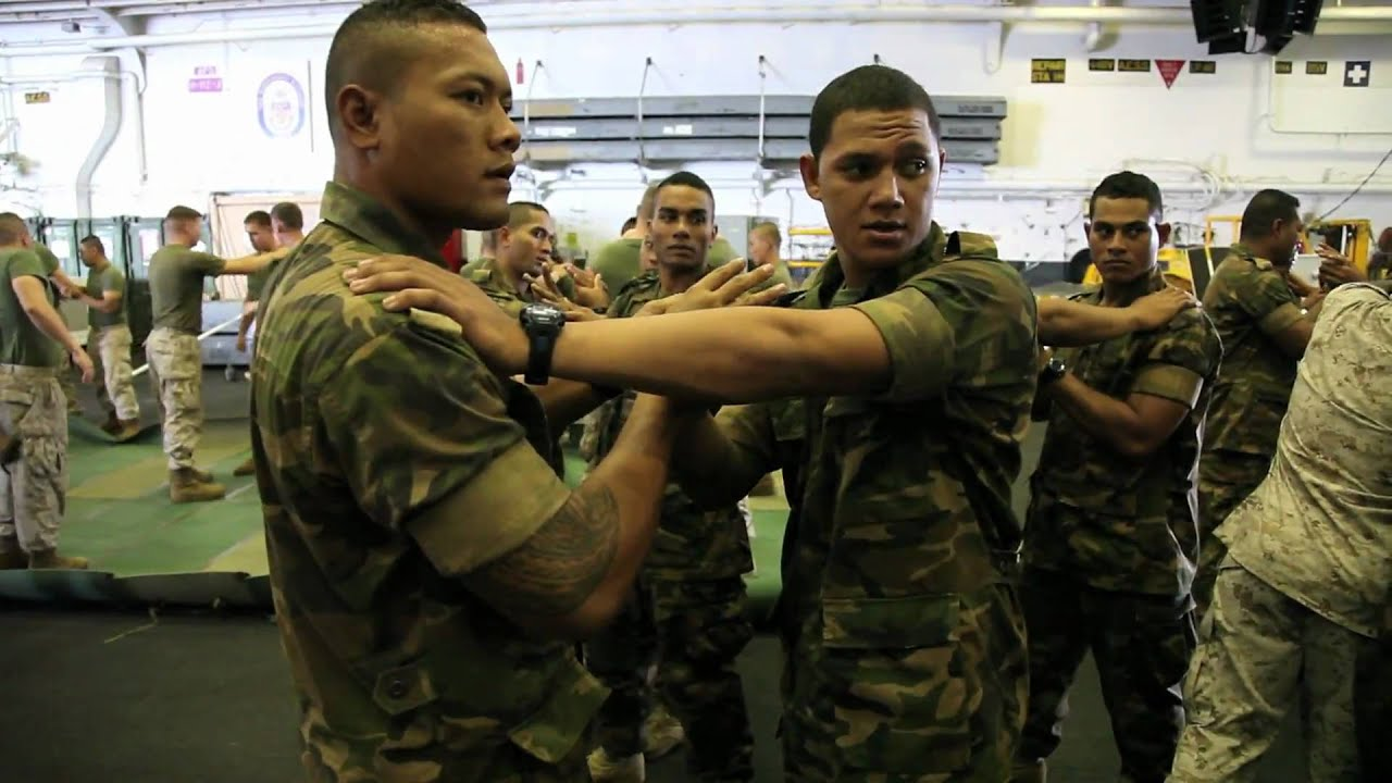 marines martial arts