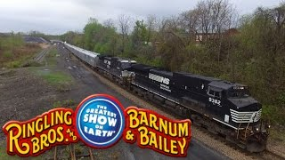 Ringling Bros. and Barnum & Bailey Circus Train 2016