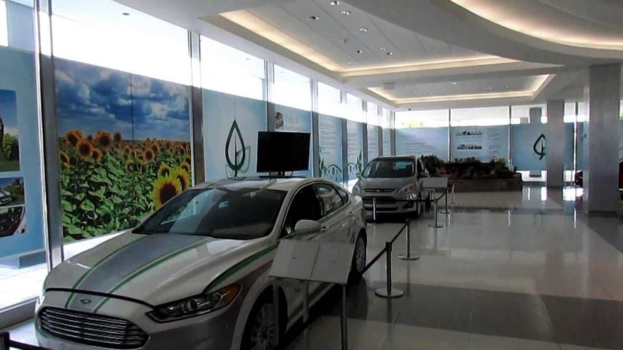 Pondless Waterfalls Ford World Headquarters Dearborn Michigan