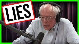 Bernie's Blatant Healthcare LIES on Joe Rogan Podcast