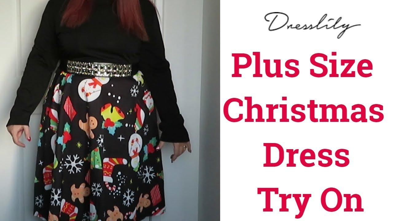 Dresslily Christmas Dress | Plus Size | UK