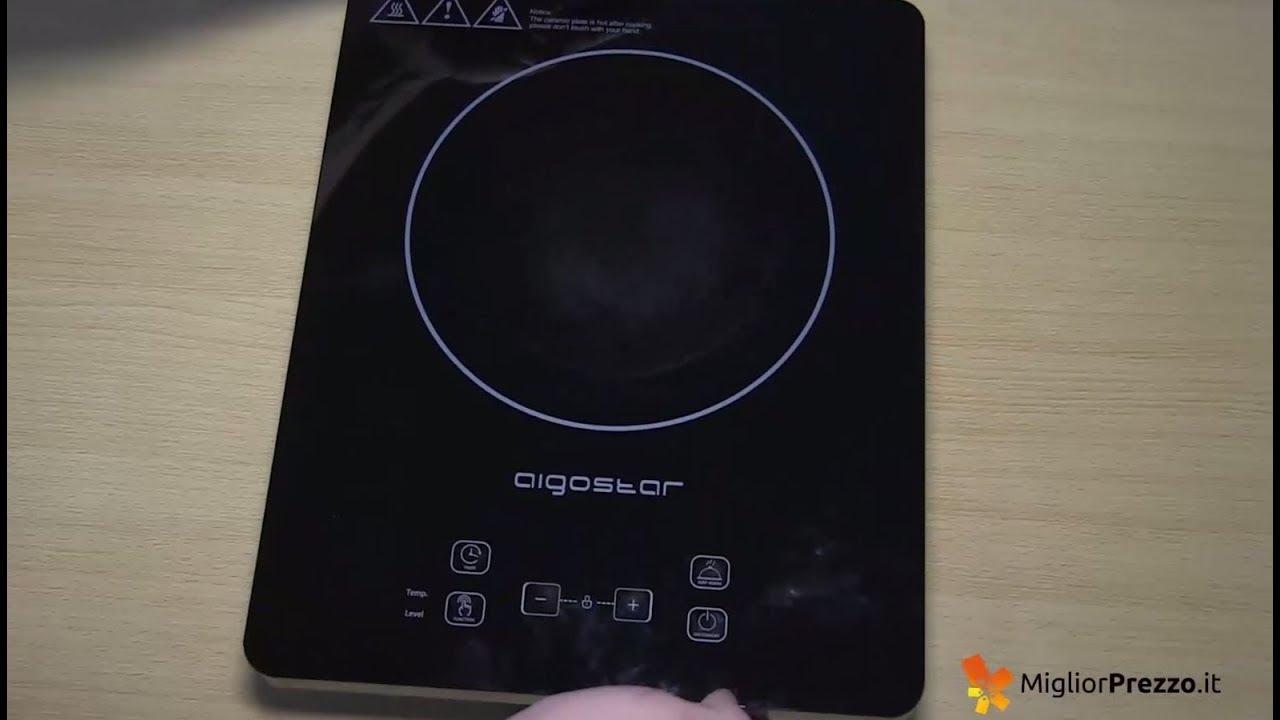 Fornello ad Induzione Multifunzione AIGOSTAR Blackfire 30IAV V2 - La ...