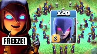 "NEW ""FROZEN WITCHES"" COMBO CHALLENGE!! ❄️ Clash Of Clans ❄️"