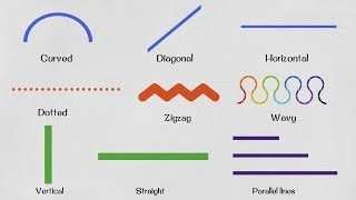 English for Kids - Lines Vocabulary for Kids | Learn Geometry Vocabulary: Lines thumbnail