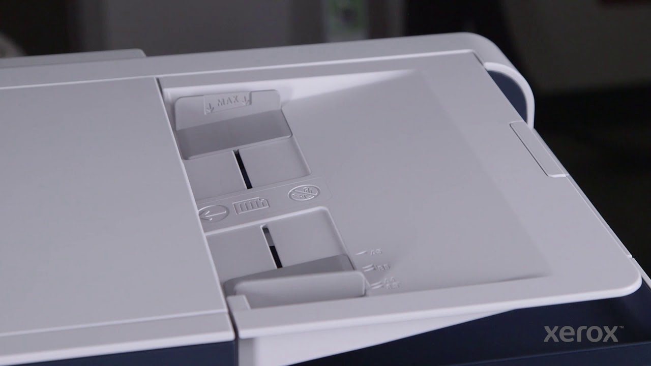 Easy Scanning Using Xerox Print Experience Youtube