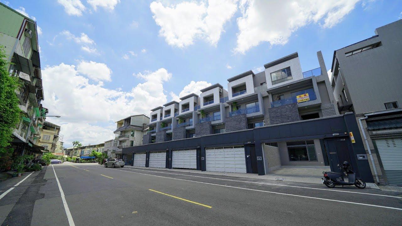 帶你看房19|屏東市演藝廳.中洲建設THE ART II 精品大地坪雙車別墅|售價1780萬.全新成屋.47地坪.68建坪.坐南朝北。