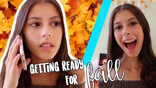 HOW GIRLS GET READY FOR FALL!!