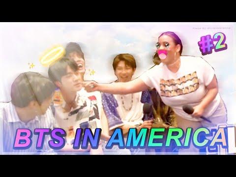 BTS IN AMERICA ON CRACK 2018 PT2
