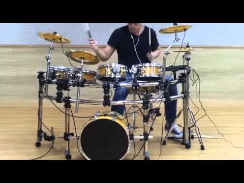【Aileen Music】 Electric Drum Sets Sample