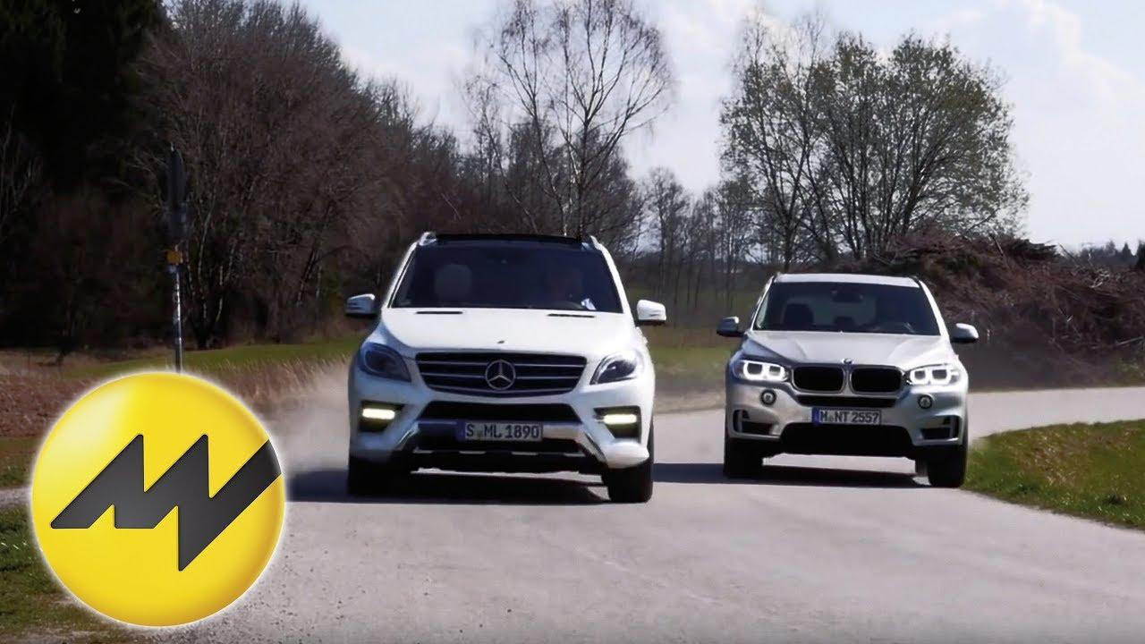BMW X5 25d xDrive vs Mercedes ML 250 Bluetec SUV Vergleich 2014