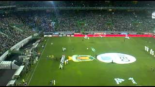 Sporting vs porto 2014/2015 - Entrada das Equipas