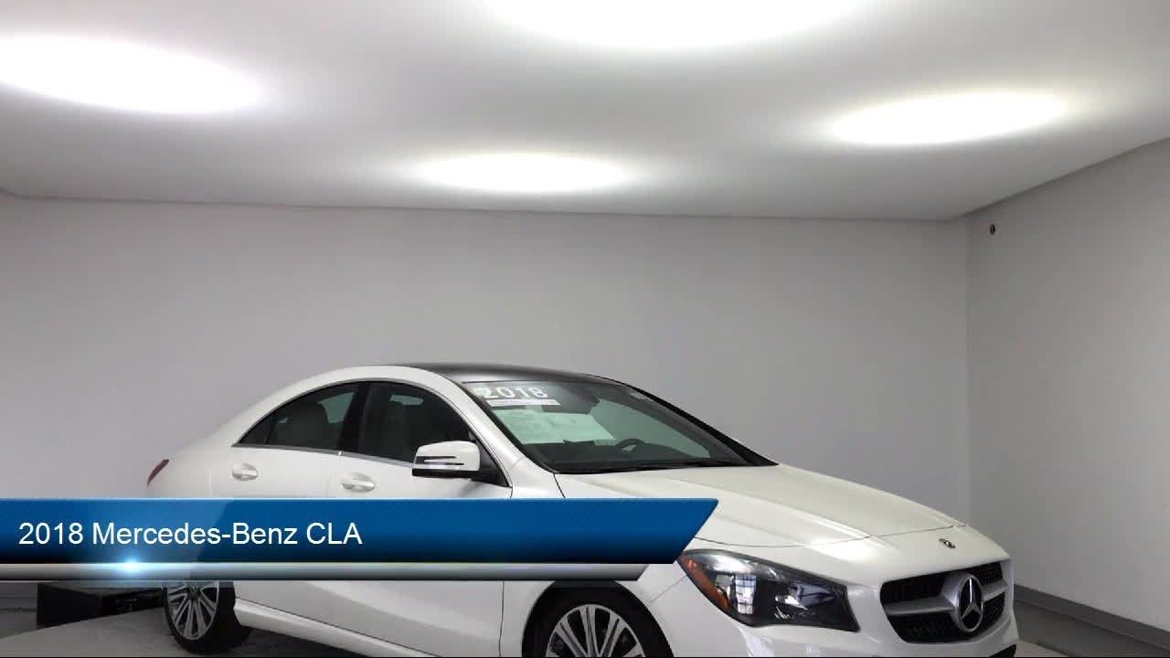 2018 Mercedes-Benz CLA Des Moines Urbandale Newton Ames ...